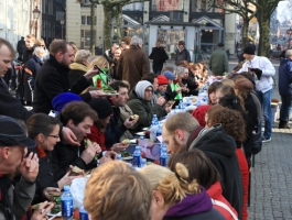Partijoverstijgende stemactie 'Vote with your fork'  groot succes