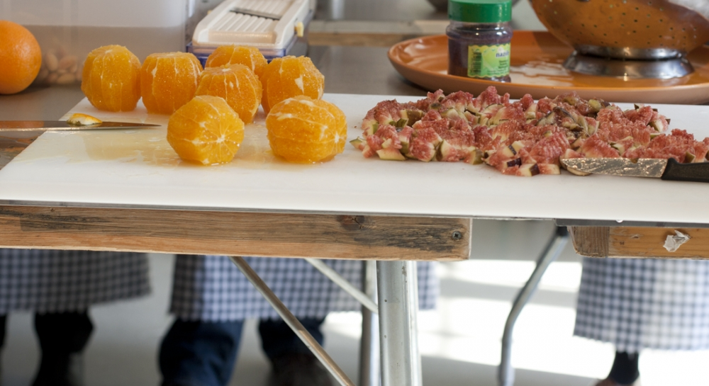 Arabische kookles van merijn en nadia food film festival